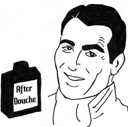 I can always smell when a guy is full of afterdouche.